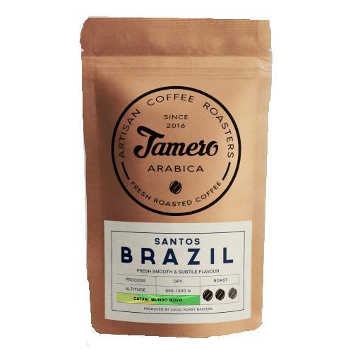 Кава Бразилія Сантос зерно Jamero 225г