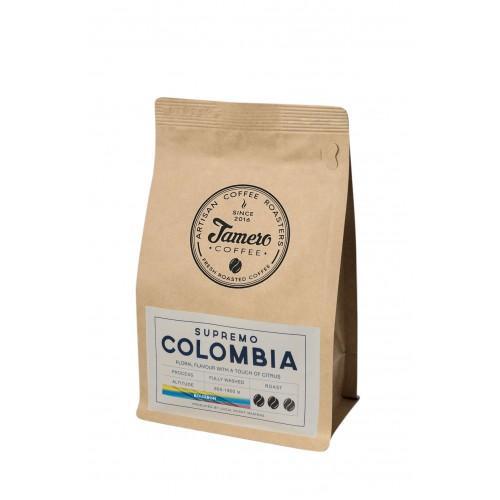 Кава Колумбія Супремо мелена Jamero 225г