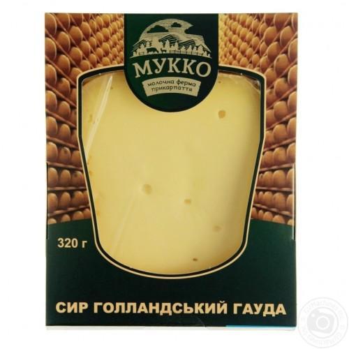 Сыр Гауда Голландский 54% МУККО 240г