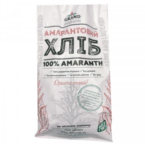 Хлеб амарантовый оригинальный  Grand Amaranth 450г