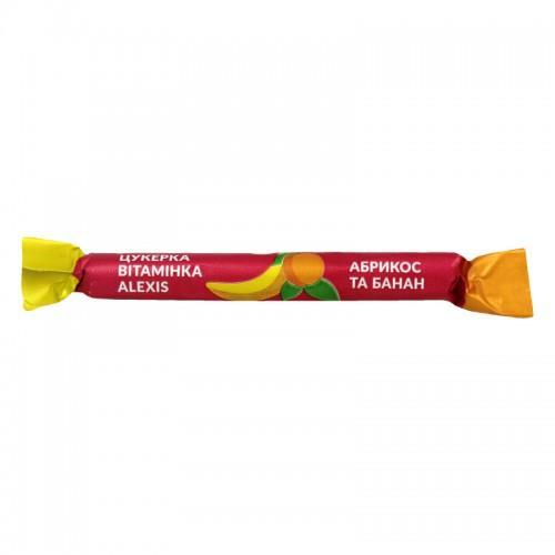 Конфета-витаминка Абрикос и банан Alexis