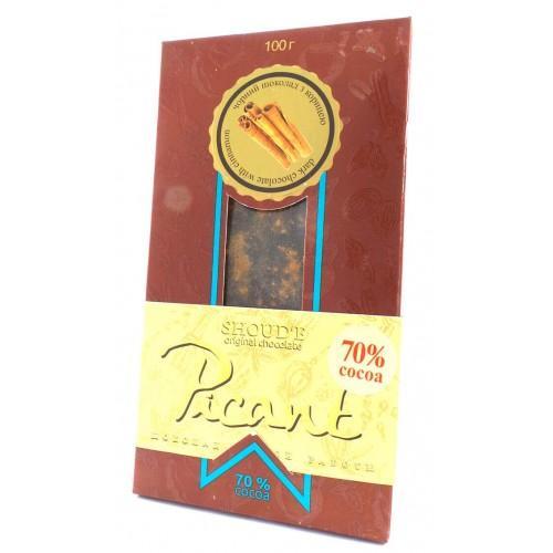 Шоколад Picant c корицей Shoud`e 100г