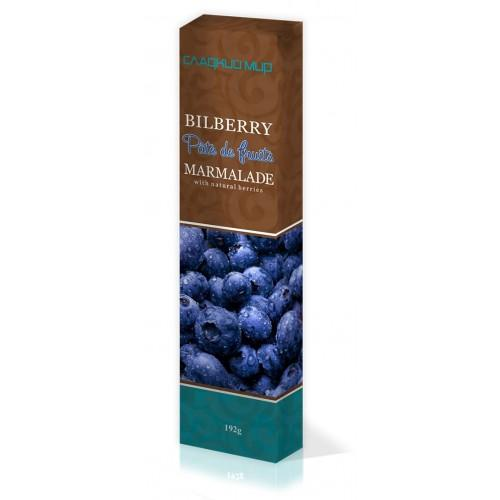Мармелад Pate de fruits Bilberry Черника Shoud`e 192г
