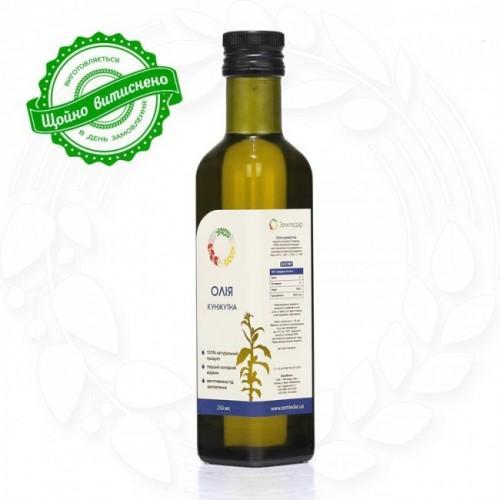 Олія з насіння кунжуту сиродавлена Земледар  250мл