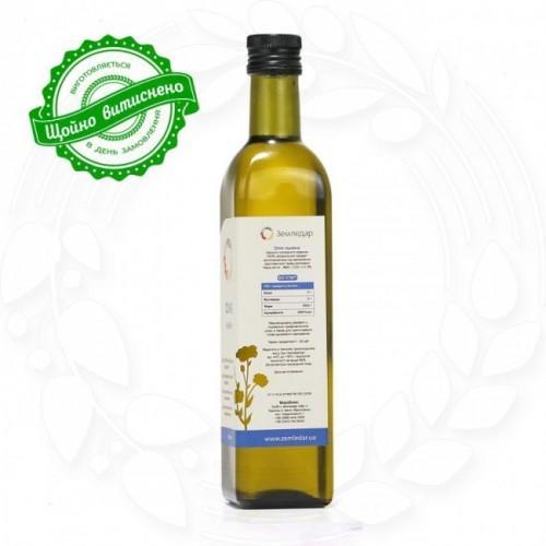 Масло льняное сыродавленое Земледар 250мл
