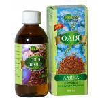 Олія  харчова Лляна, Адверсо 200мл