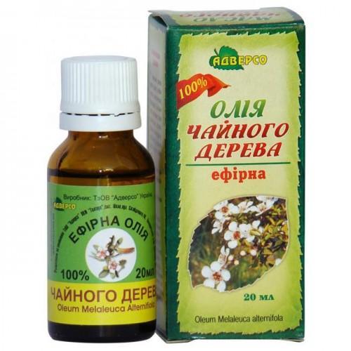 Олія ефірна Чайного дерева,  Адверсо 10мл