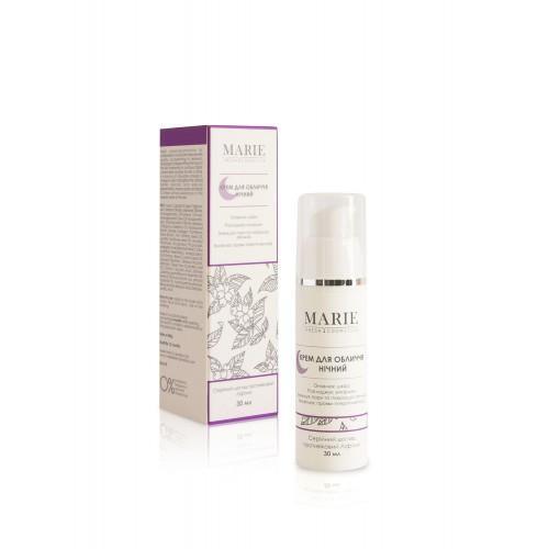 Крем для лица ночной антивозрастной лифтинг-эффект Marie Fresh Cosmetics 30 мл