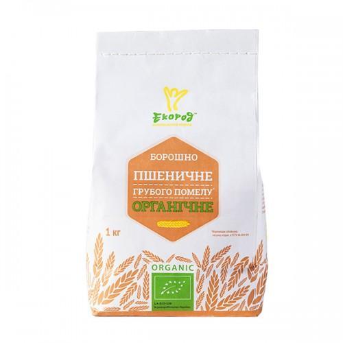 Борошно пшеничне грубого помелу Екород 1кг