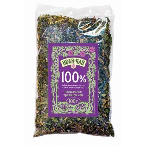 Натуральный травяной чай Иван-чай 100% 100г
