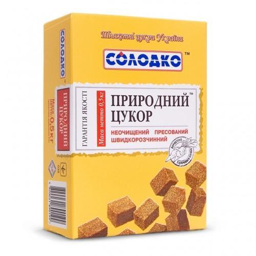 Сахар быстрорастворимый Солодко 500г