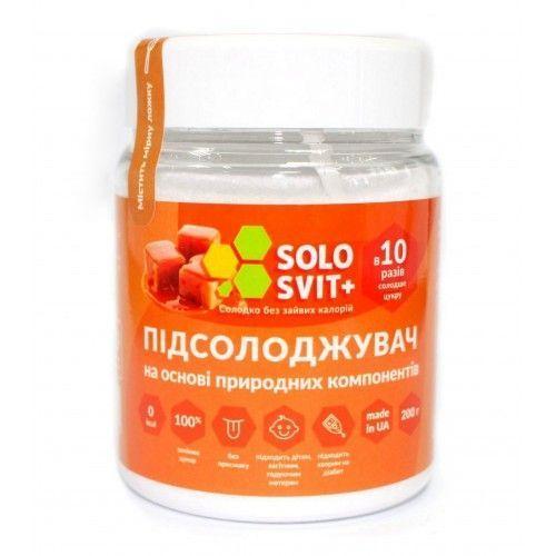 Замінник цукру В 10 разів солодший за цукор Solosvit 200 г