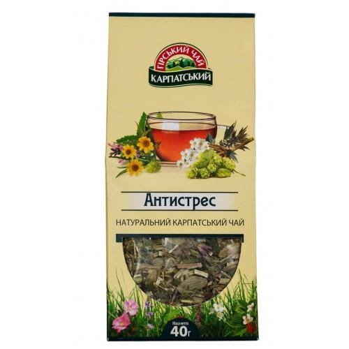 Натуральний карпатський чай Антистрес Гірський чай Карпатський 40г