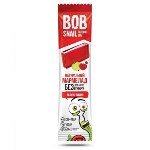 Натуральный мармелад Яблоко-вишня Bob Snail- Равлик Боб 38г