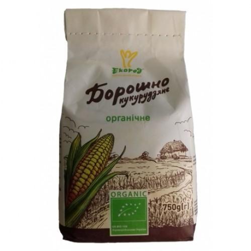 Мука кукурузная Екород 750г
