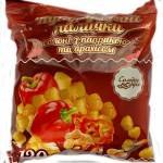 Крупяные палочки соленые с паприкой и арахисом неглазурованные Солодка Мрія 100г