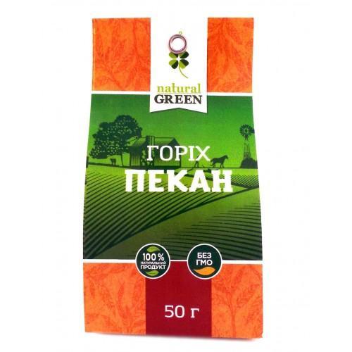 Орех пекан Natural Green 50г