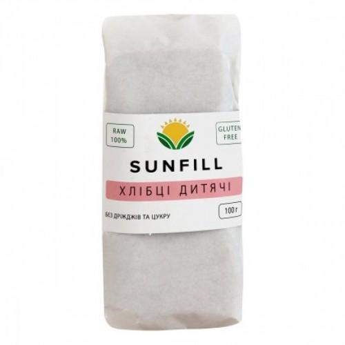 Хлібці дитячі Sunfill 100г