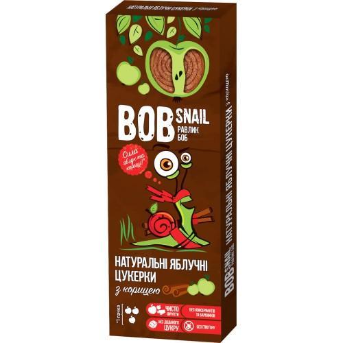 Конфеты натуральные Яблочные с корицей Bob Snail - Равлик Боб 30г
