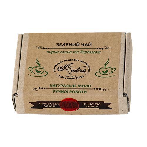 Мило Зелений чай Амбра 100г