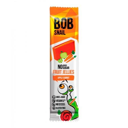 Натуральний мармелад Яблуко-морква Bob Snail - Равлик Боб 38г