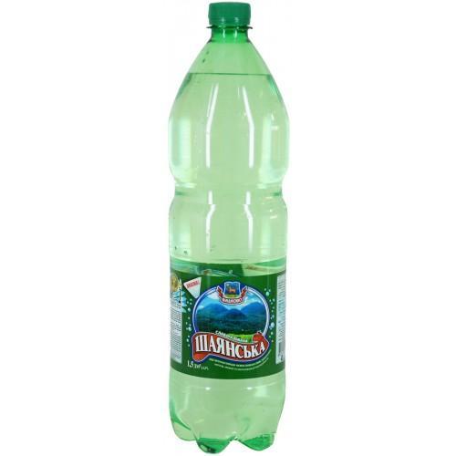 Вода слабогазована Шаянська Вишково 1,5л