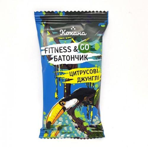 Fitness&Go Батончик Цитрусові джунглі  Кохана 40г