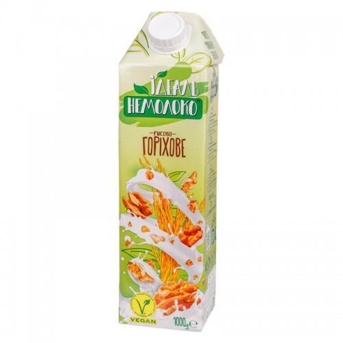 Напій ультрапастеризований рисово-горіховий 4,0% Ідеаль Немолоко 1л