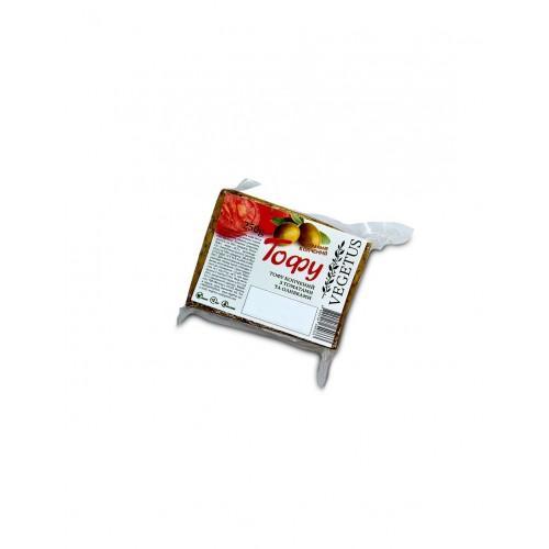 Тофу копченый с томатами и оливками  Vegetus 250г