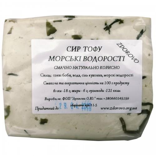 Тофу з  морськими водоростями ZDOROVO
