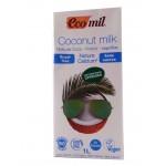 Органічне молоко з кокосу з кальцієм Ecomil 1л
