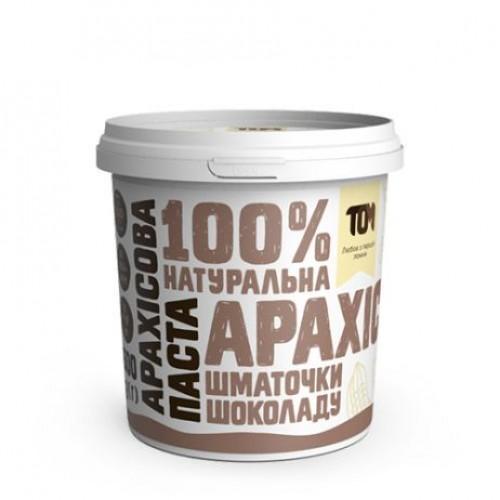 Арахісова паста з шоколадом ТОМ 500г пластик