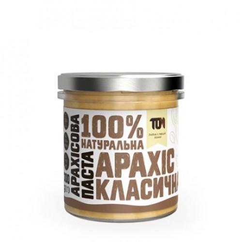Арахисовая паста классическая ТОМ 300г скло