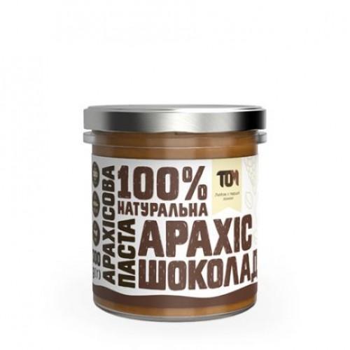 Арахісова паста з шоколадом ТОМ 300г скло