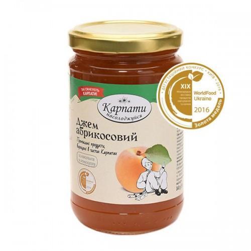Джем абрикосовий ТМ Карпати 360г