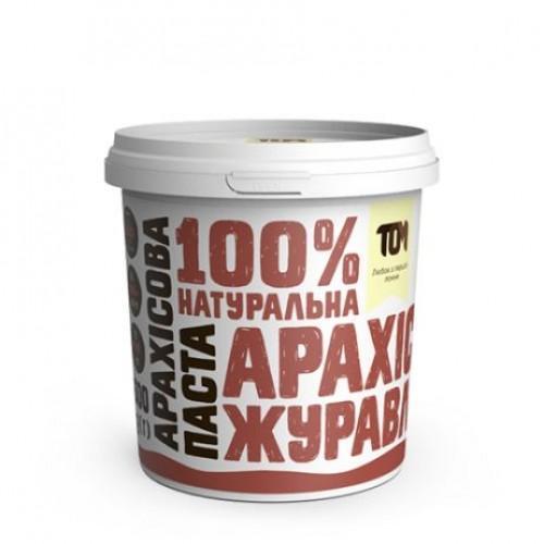 Арахісова паста з журавлиною ТОМ 500г пластик