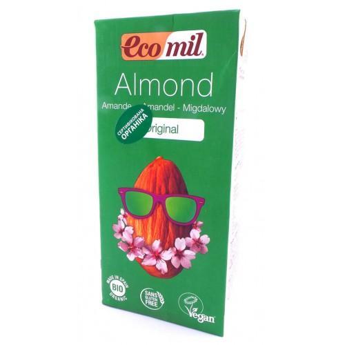 Органическое молоко из миндаля и агавы Ecomil 1л