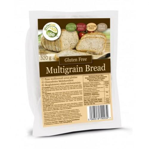Хліб цільнозерновий без глютену Bezgluten 320г