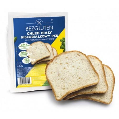 Хліб білий низькобілковий Bezgluten 320г