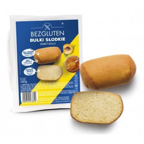 Булочки солодкі без глютену Bezgluten 180г