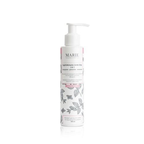 Гидрофильное масло для сухой и нормальной кожи Чистка-демакияж-питание Marie Fresh Cosmetics 150 мл