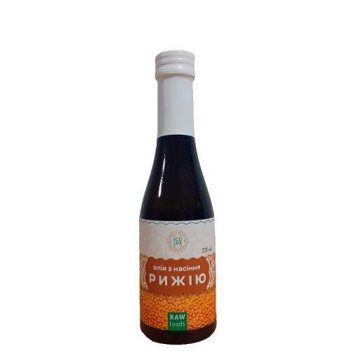 Олія з насіння рижію  Еколія 200мл