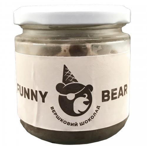 Морозиво натуральне вершкове Вершковий  шоколад Funny Bear  100г