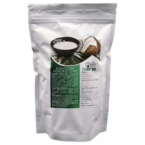 Молоко сухе  кокосове   Vegan Prod  250г