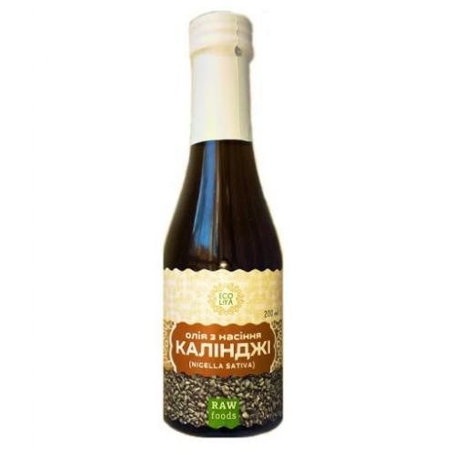 Масло из семян черного тмина (калинджи) Sativa  Еколія 200мл