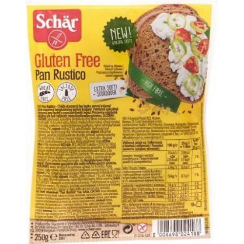 Хліб багатозерновий Pan Rustico Schar 250г