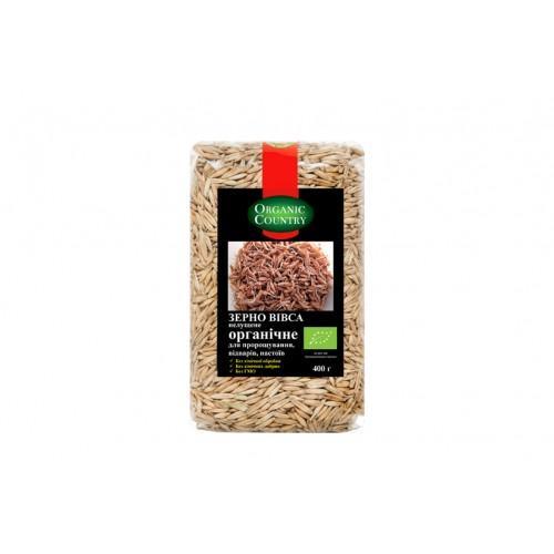 Зерно вівса нелущене Organic Country 400г