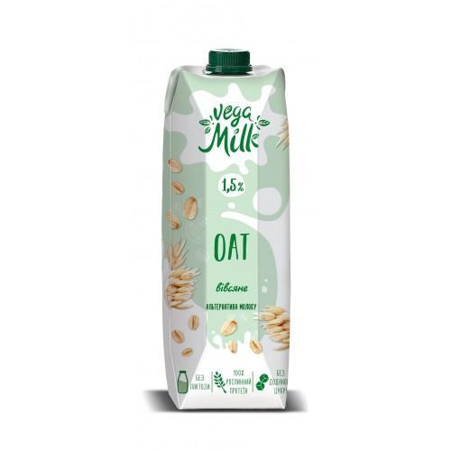 Напій вівсяний 1,5%  Vega Milk 950мл