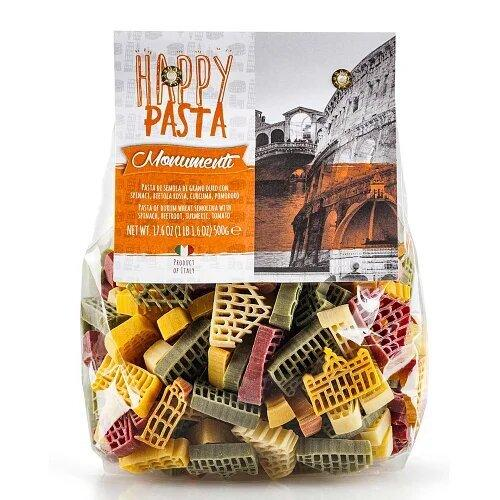 Макароны Happy pasta Monumenti  Dalla Costa 500г