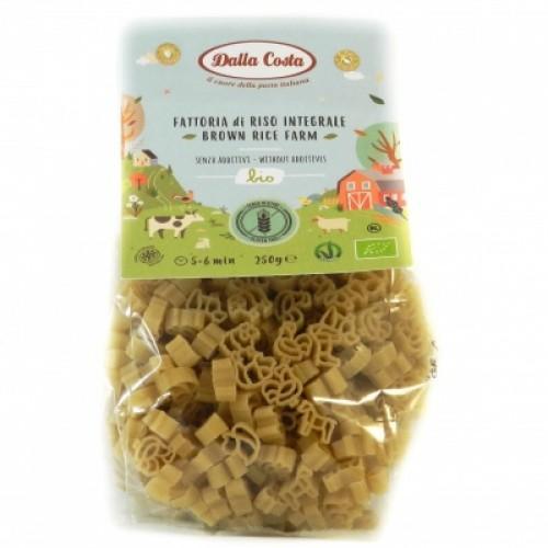 Макароны Bio из муки коричневого риса Dalla Costa 250г